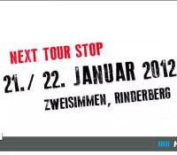Coop Skicross Tour Einstimmung